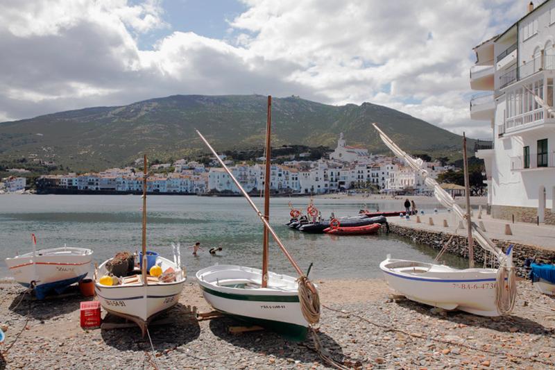 Cadaquez på Costa Brava-kysten i Spanien