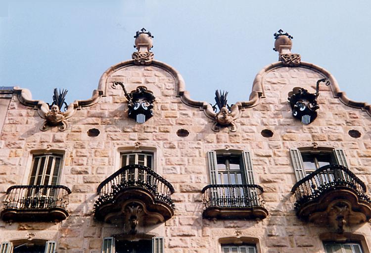 Gaudís Casa Calvet i Barcelona