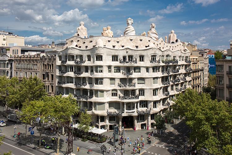 Gaudís La Pedrea, Casa Mila i Barcelona. Foto: Catalunya-La Pedrera Foundation