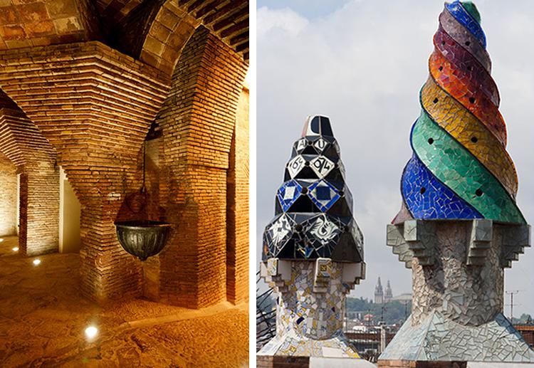 Gaudís Palau Güell i Barcelona. Foto: Christian Grønne og  Turol Jones