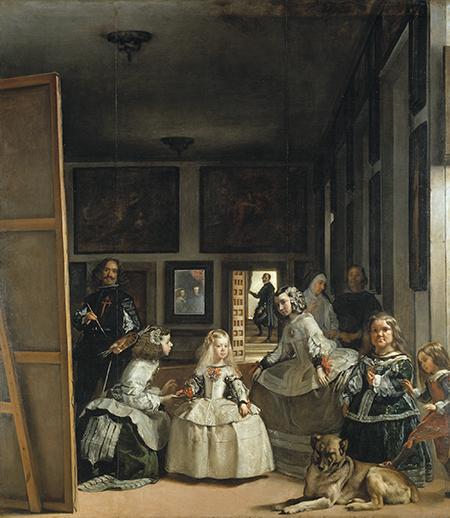 Las Meninas af Diego Velázquez - Prado-museet i Madrid. Foto: © Museo Nacional del Prado.