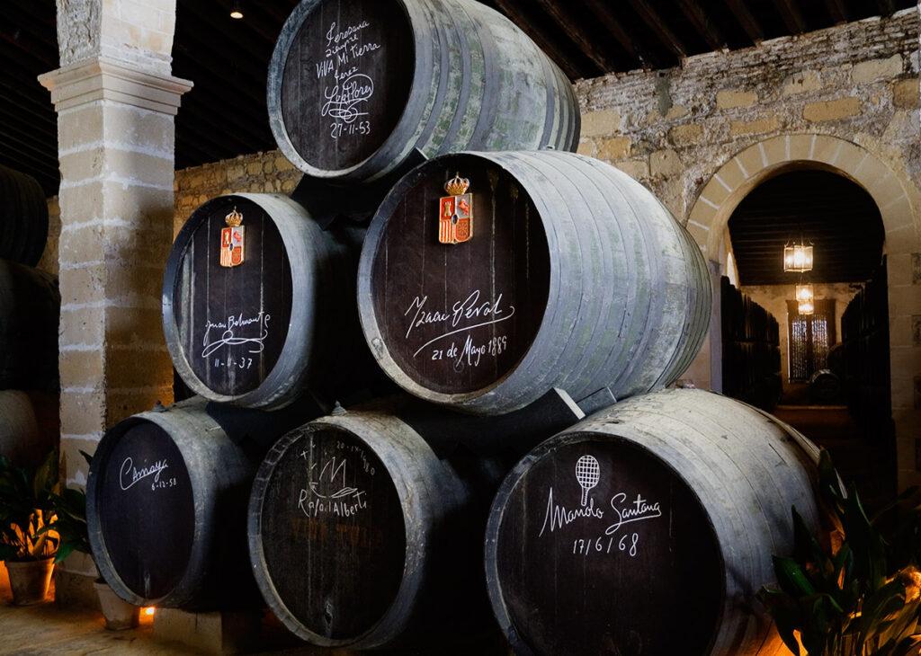 Tag til sherrysmagning i Jerez de la Frontera - Rundvisning hos Tip Pepe / Gonzalez Byass
