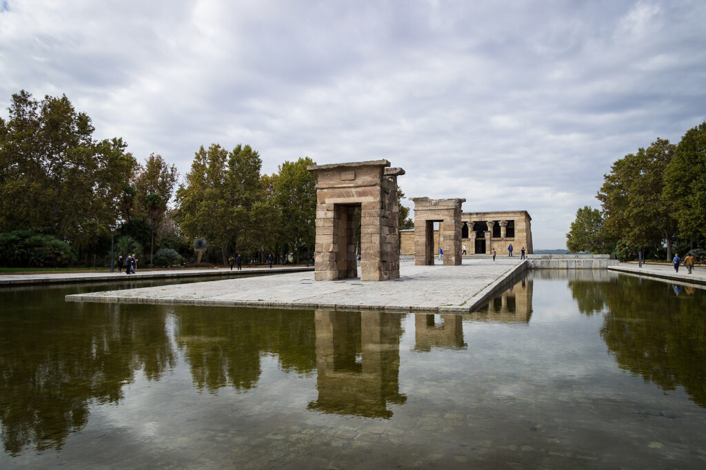Madrid for begyndere: Det skal du opleve - Templo de Debod. Foto: Hanne Olsen