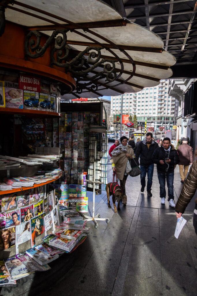 Guide: Madrids største oplevelser - Gran Vía