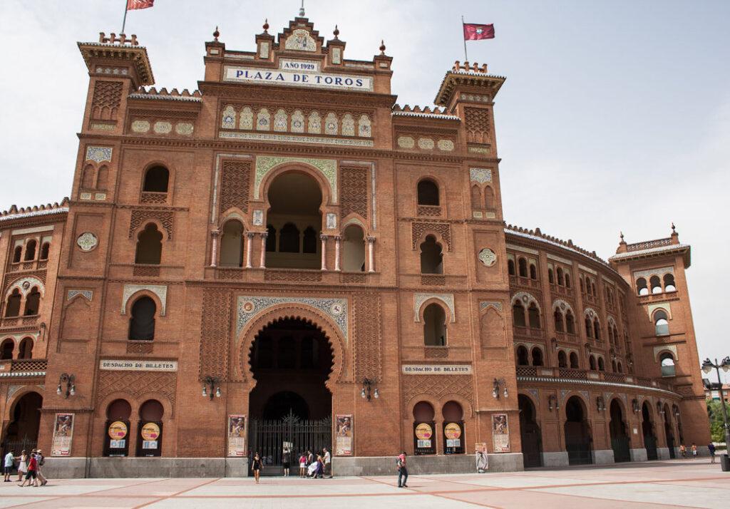 Tyrefægterarenaen Las Ventas er en af de ting, du skal opleve i Madrid
