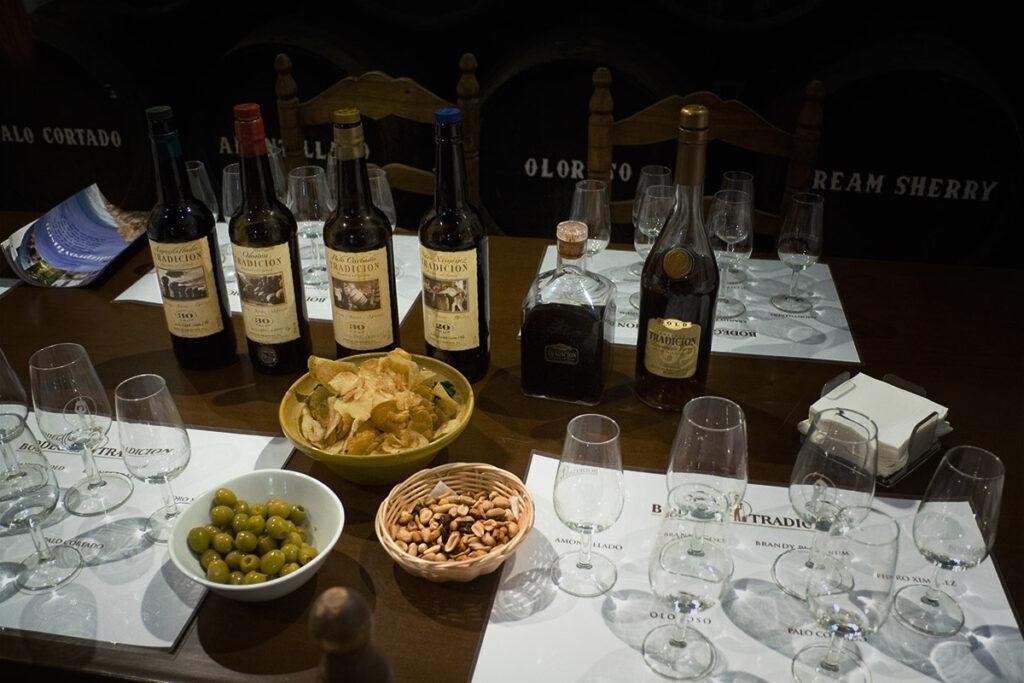 Tag til sherrysmagning i Jerez de la Frontera