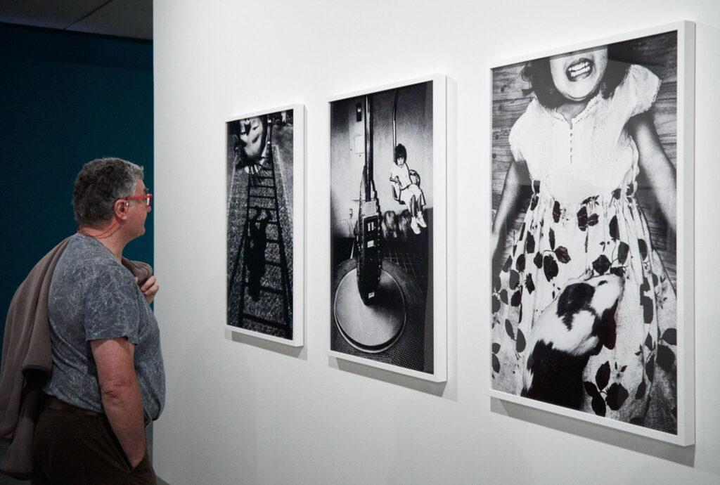 PHotoESPAÑA 2018: Jacob Aue Sobol på Magnum-udstillingen Players - foto: Christian Grønne