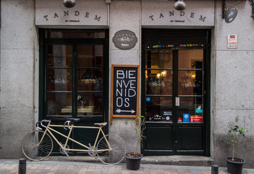 6 gode restauranter i Madrid - Tandem
