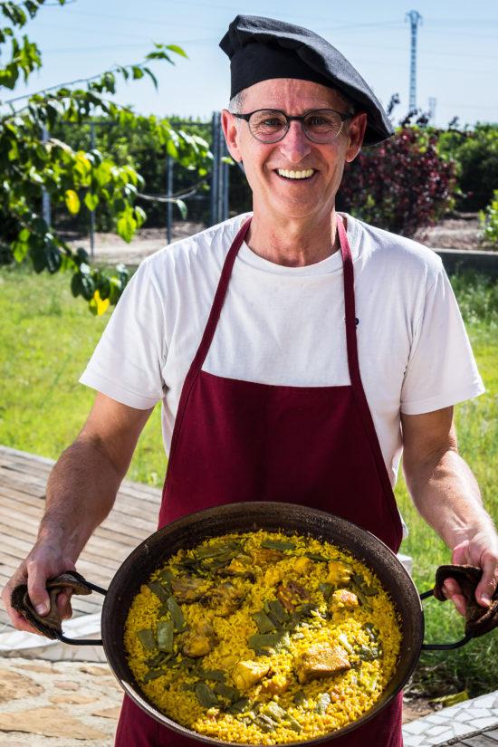 workshop: Kunsten at tilberede og spise en autentisk paella - Mi Paella en el Huerto