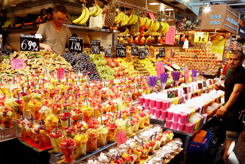 Guide til Barcelona for begyndere: La Boqueria