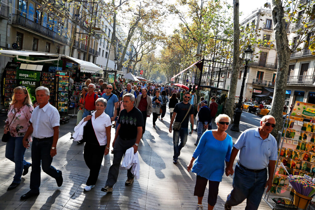 Guide til Barcelona for begyndere: Ramblaen