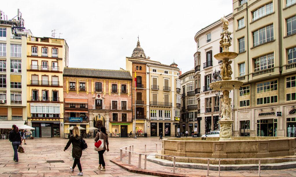 Guide Málaga: Plaza de la Constitución