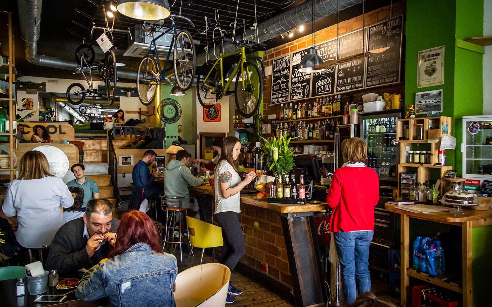 6 gode cafeer i Málaga