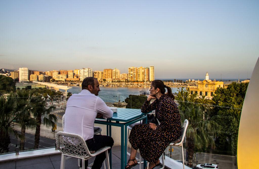 Guide til Málaga: Det skal du opleve i Picassos fødeby - drinks på Terazza Valeria
