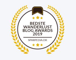 Bedste Wanderlust Blog Awards 2019 - Spanienbloggen