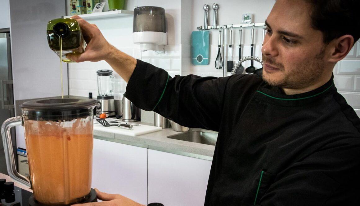 Opskrift på salmorejo - kold suppe fra Andalusien