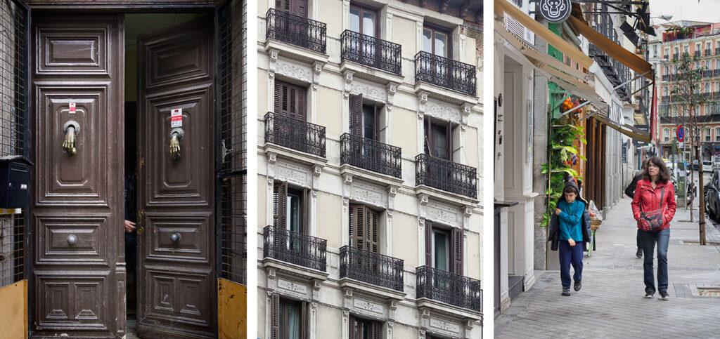 Calle Fernanso VI i Madrid spiller en vigtig rolle i filmen Julieta.