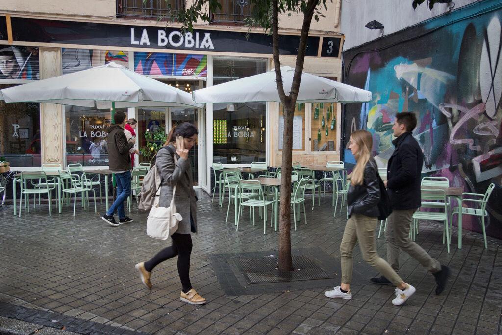 Bobia Bar i Madrid har fået kultstatus på grund af Almodóvars film: Passionens labyrint.
