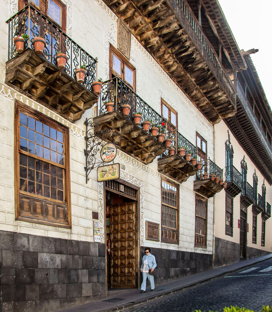 Bland de gode oplevelser på Tenerife er huset med balkonerne - La Casa de los Balcones