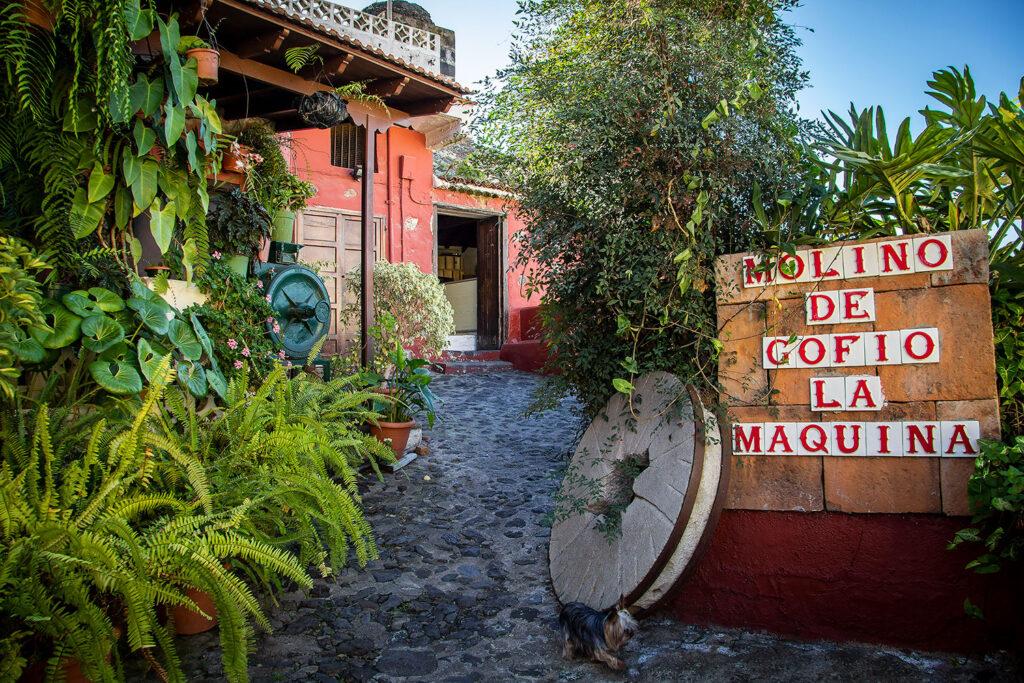 Et besøg på den gamle gofio-mølle i La Orotava er en af de interessante kulturoplevelser på Tenerife.