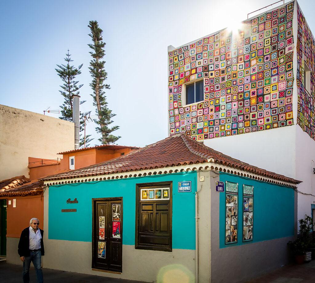 Der er masser af gadekunst i vente som en af de gode oplevelser i Puerto de la Cruz på Tenerife.
