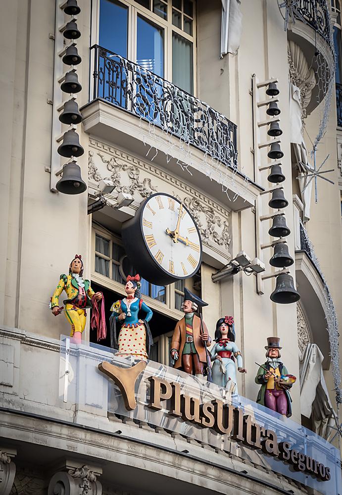 Uret El Carrilón i Madrid er et must see i julen