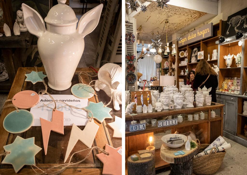 Madrid er ideel til juleshopping hos bl.a. keramikeren Guille