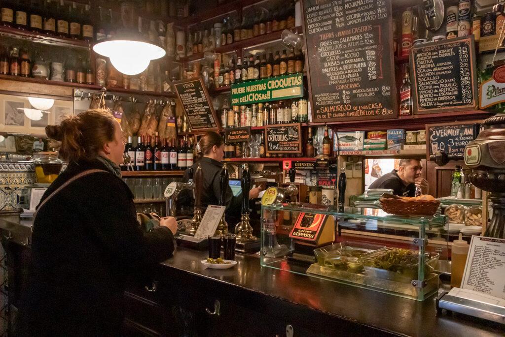 Bodega Ardosa i Madrids Malasaña-kvarter har en fantastisk vermouth