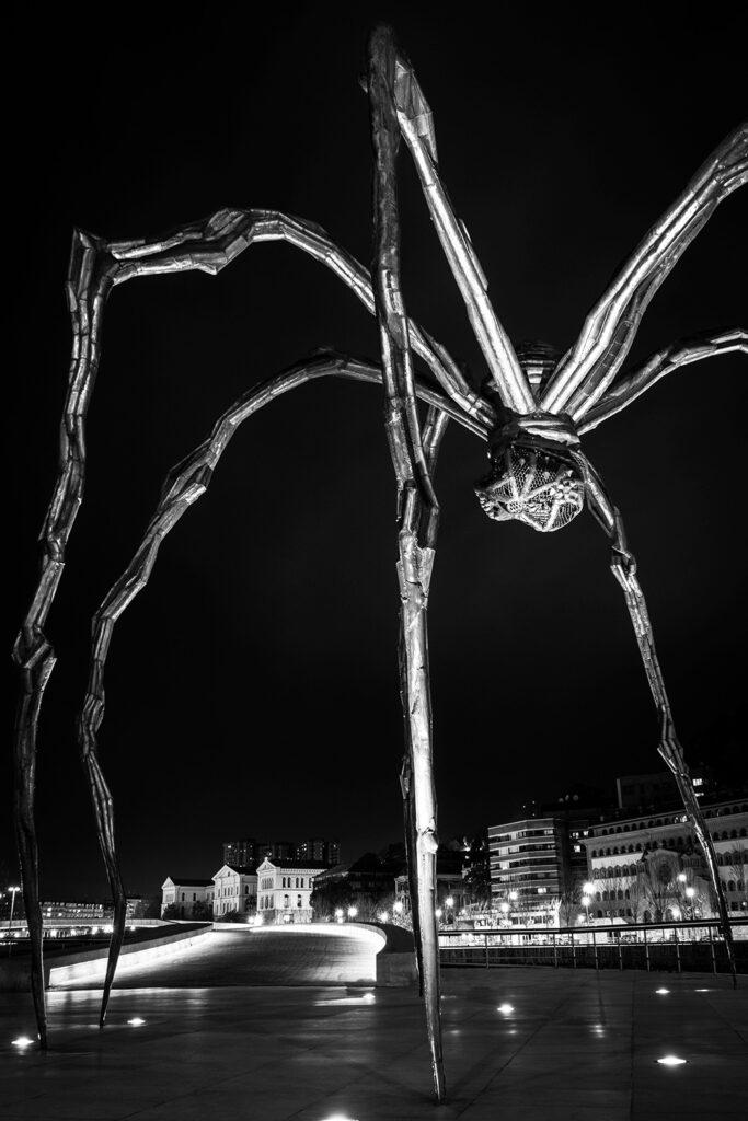 Guide til Bilbao: Louise Bourgeois' gigantiske edderkop er et af de kunstneriske højdepunkter på Guggenheim-museet i Bilbao.