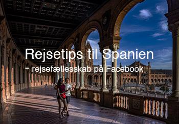 Rejsetips til Spanien - rejsefællesskab på Facebook