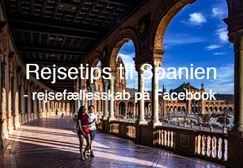 Rejsetips til Spanien - fællesskab på Facebook