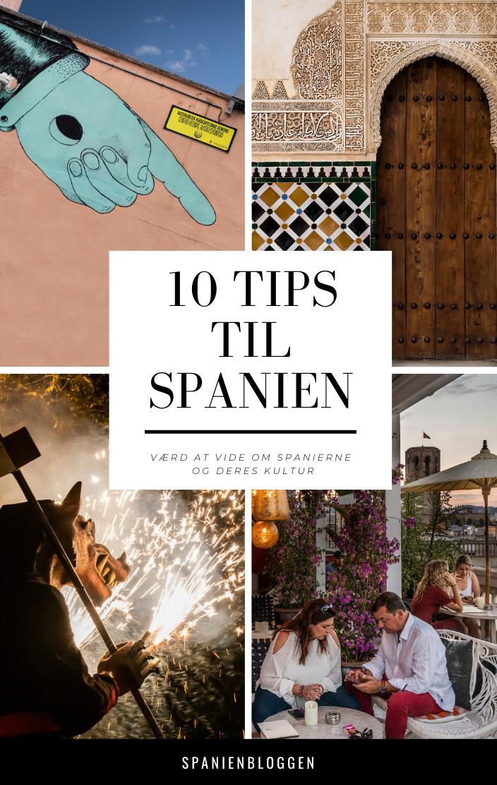 10 tips til Spanien