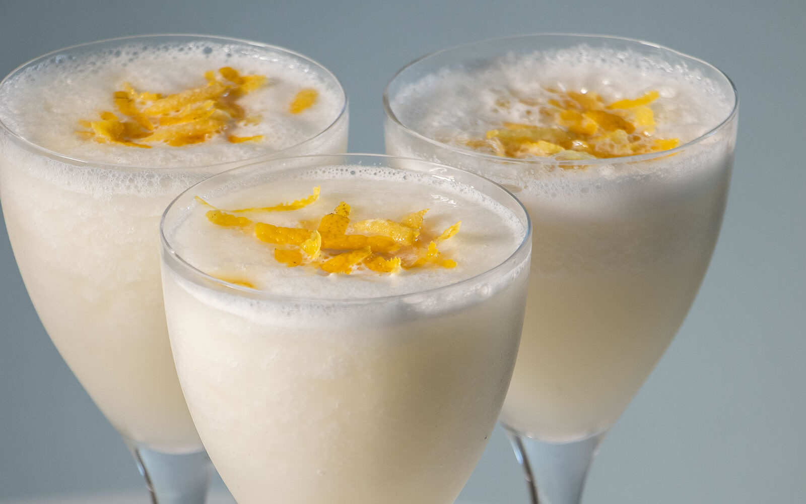 Forfriskende spansk dessert: Citronsorbet med cava