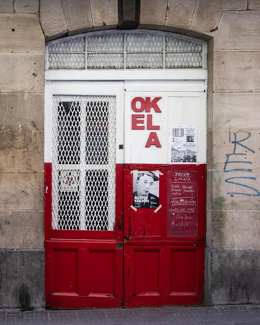 I Bilbaos kunstnerkvarter, La Vieja, er der strøet med kunstgallerier.