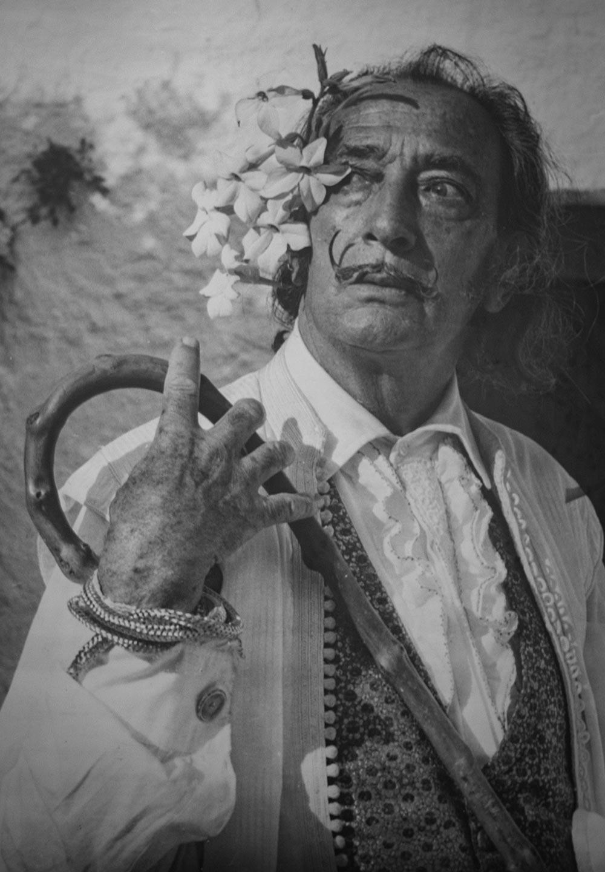 Den spanske kunstner Salvador Dali