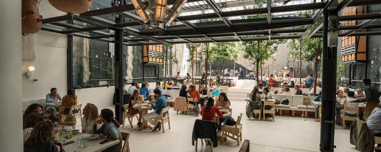 MO de Movimiento: På fremtidens restaurant i Madrid er alt fra design til mad bæredygtigt