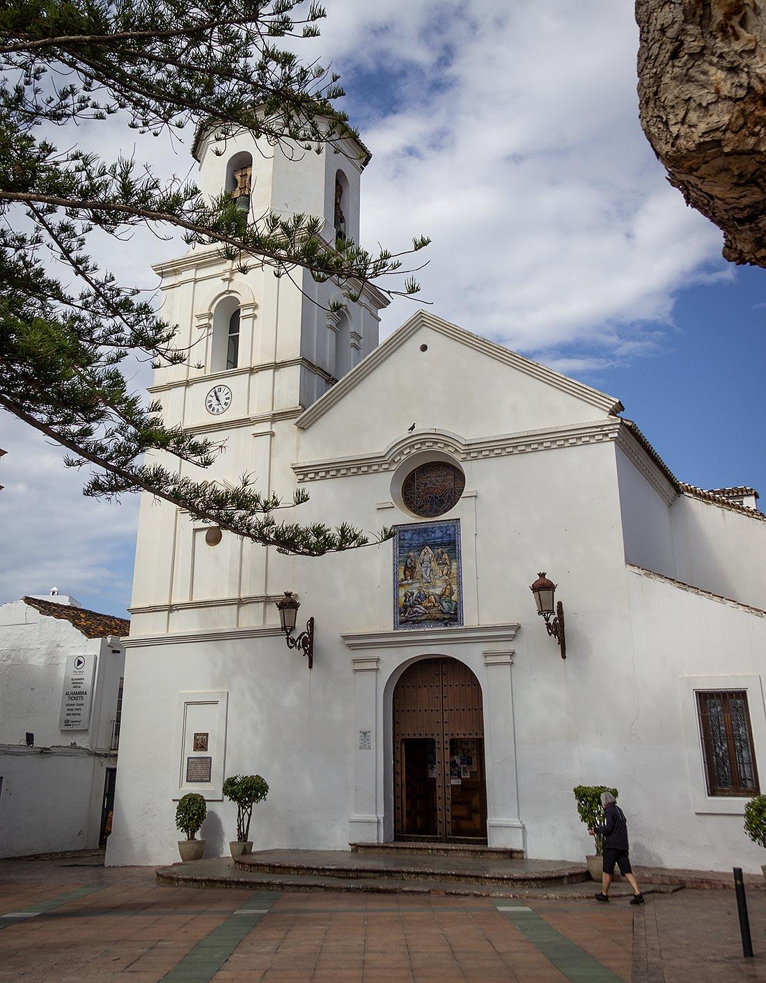 Kirken Parroquia El Salvador i Nerja