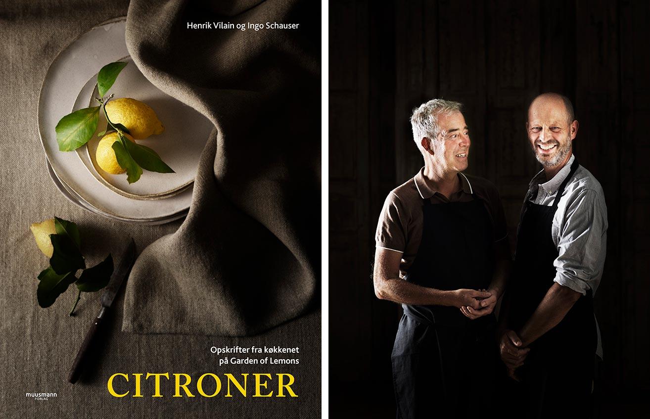 Citroner - Kogebog af Henrik Vilain og Ingo Schauser. Foto: Mikkel Adsbøll