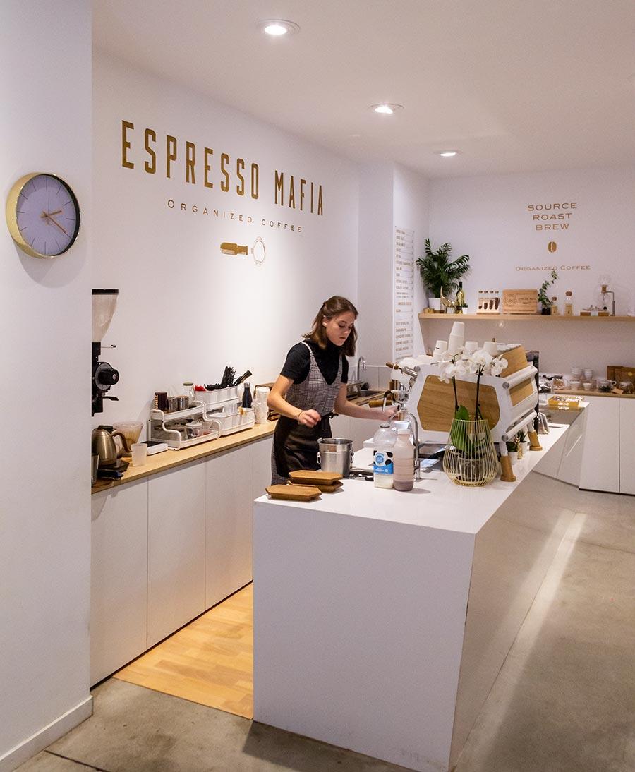 Espresso Mafia i Girona.