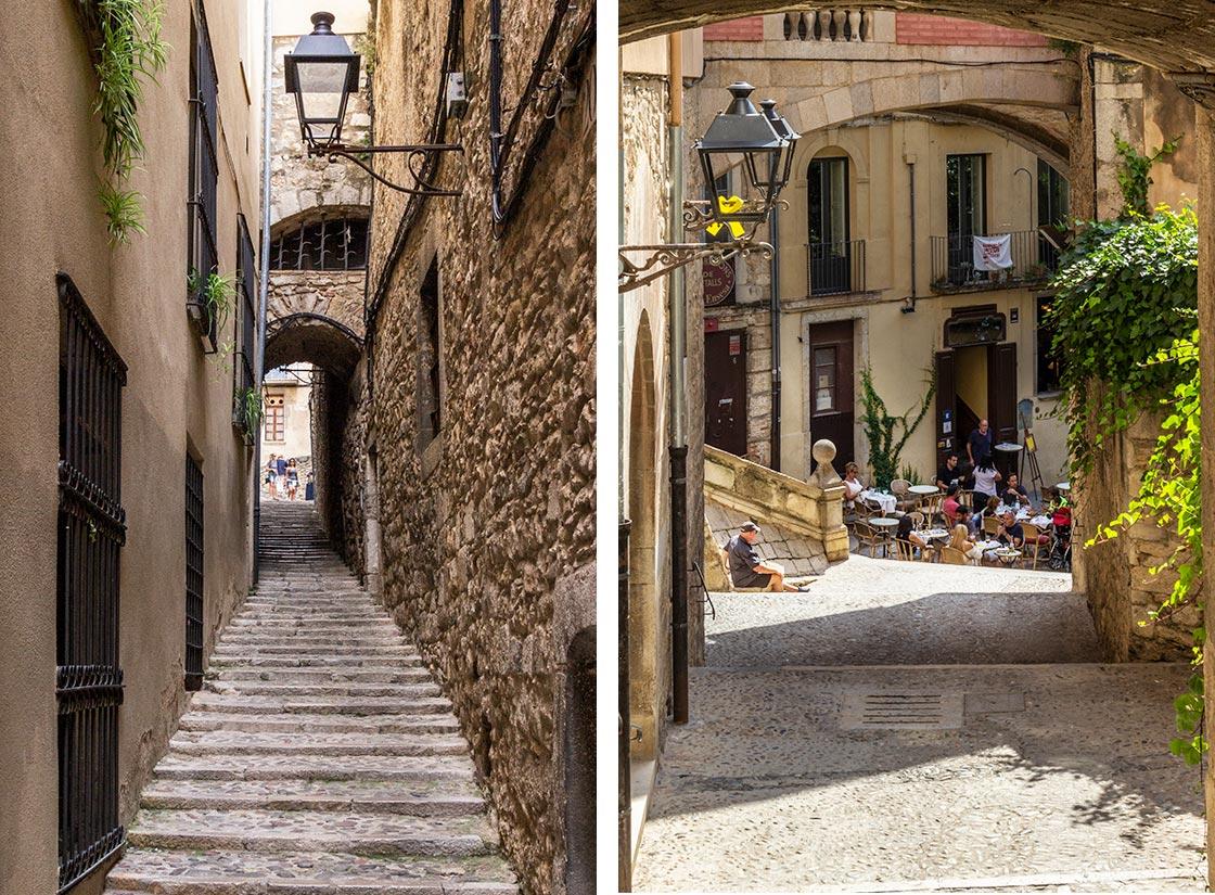 Far vild i Gironas jødiske kvarter El Call
