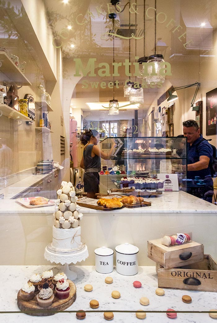 Forkæl din søde tand hos Martina Sweet Cakes i Girona