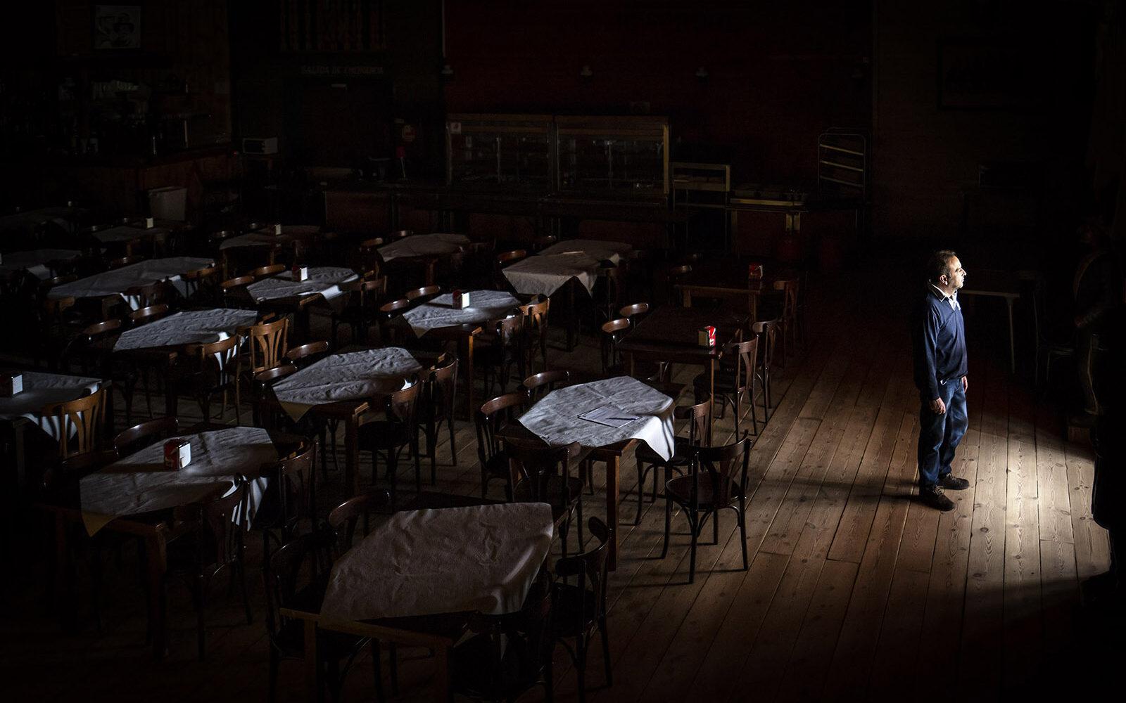 Fotoprojekter er en gribende indsigt i spaniernes liv under coronanedlukningen. Foto: Susana Giron