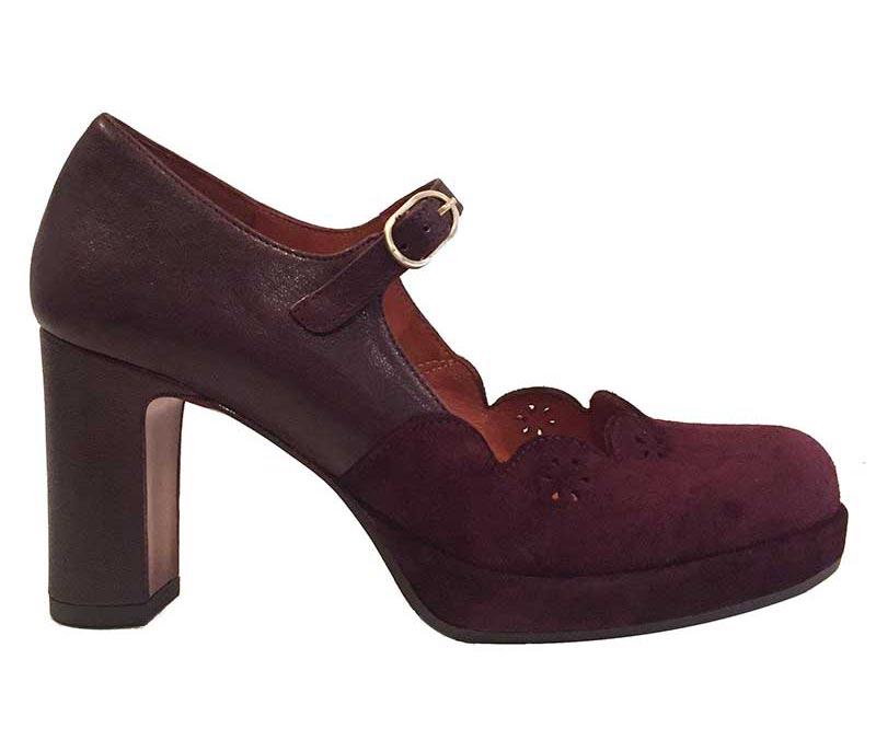 Bordeaux sko fra Chie Mihara.