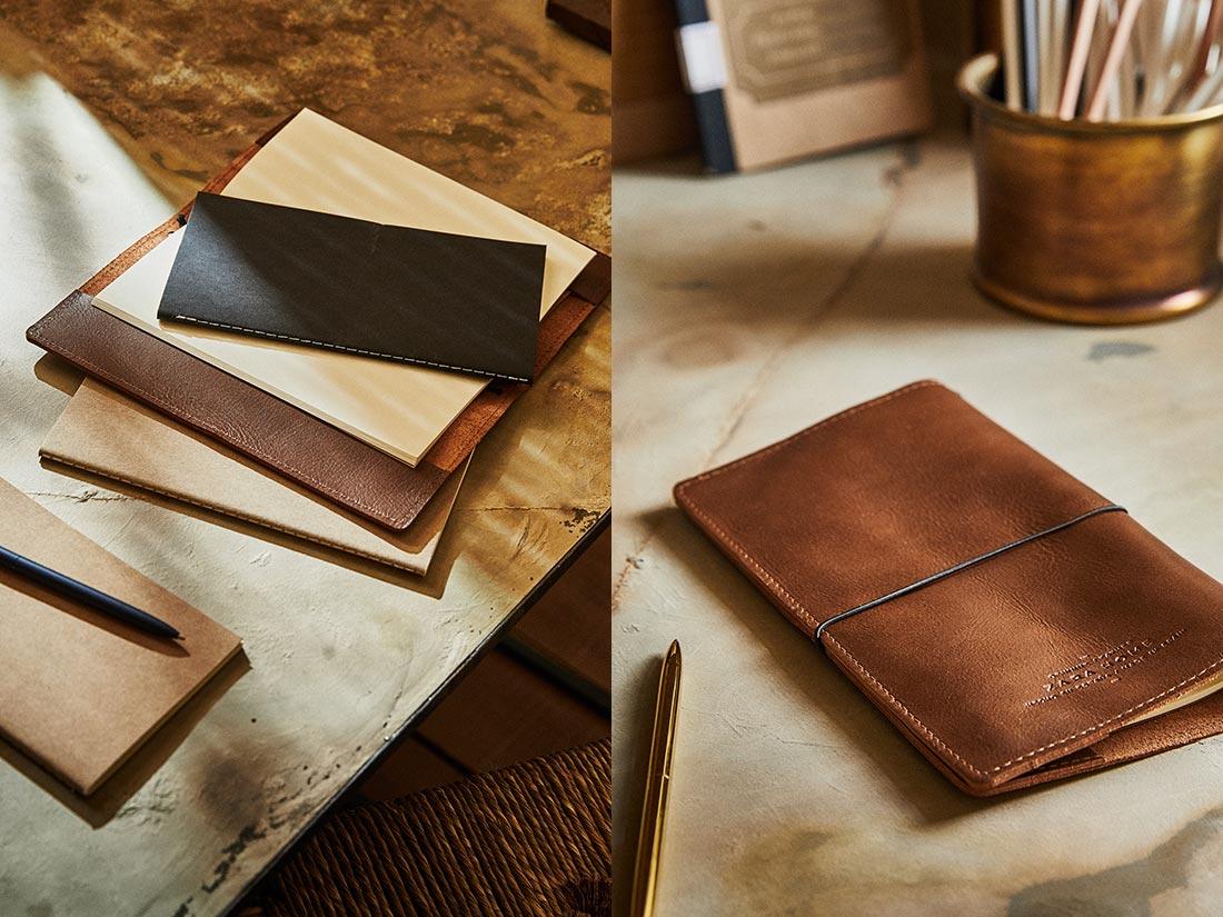 Pak dine personlige noter ind i et lækkert læderomslag fra Zara Home.