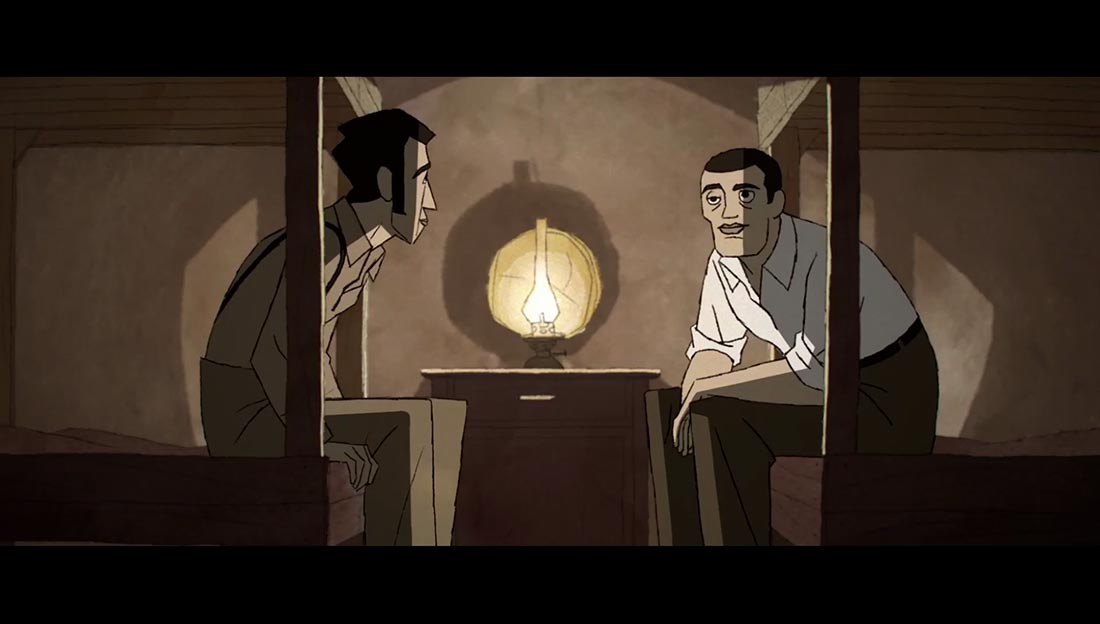 Buñuel i skildpaddernes labyrint - se filmen på Filmstriben