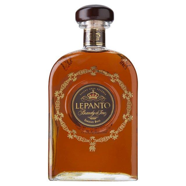 Velsmagende Lepanto Gran Reserva Brandy fra spanske Gonzalez Byass.